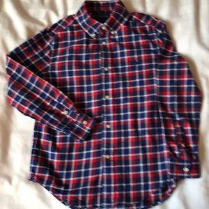 Ralph Lauren  brushed cotton plaid shirt